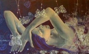 Dorina Costras -Weaving lace wings...