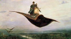 Victor Vasnetsov - The Magic Carpet (Covorul fermecat)