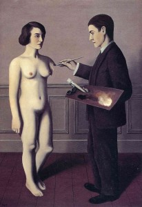 Attempting the Impossible - Rene Magritte 1928