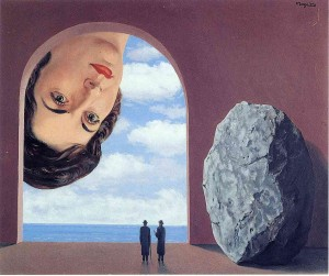 Portrait of Stephy Langui - Rene Magritte